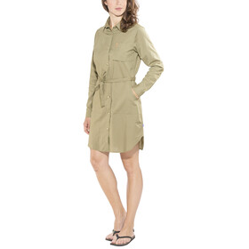 Fjällräven Övik Shirt Dress Women Savanna